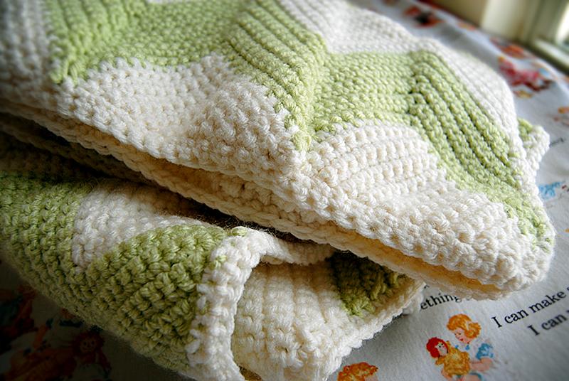 chevron baby blanket 5.2