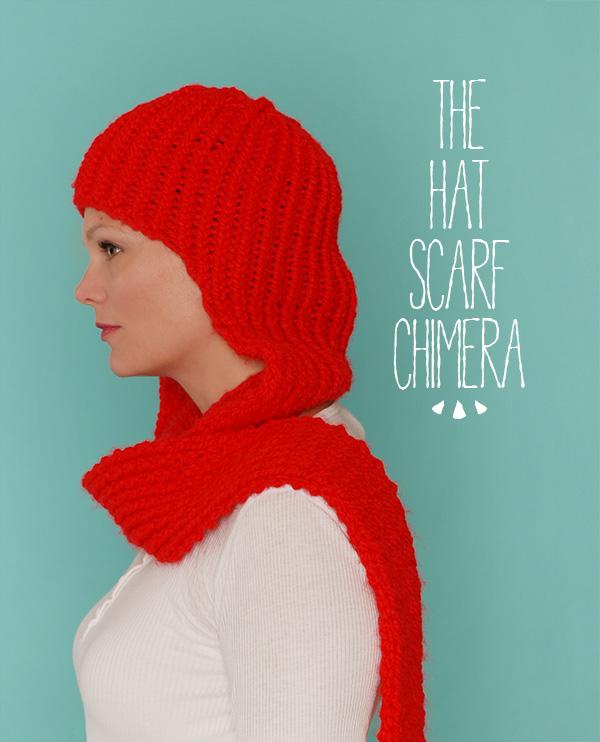 hat/scarf chimera